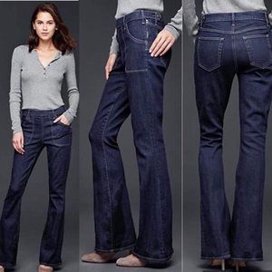 GAP Resolution High Rise Skinny Flare Jeans 29